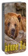 Bear Nature Boy Portable Battery Charger