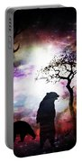 Bears Night Out Portable Battery Charger