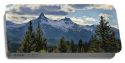Beartooth Mountains In Spring Portable Battery Charger
