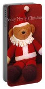 Beary Merry Christmas  Portable Battery Charger