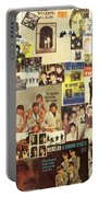 Beatles Collage 1 Portable Battery Charger