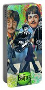 Beatles Fan Art Portable Battery Charger