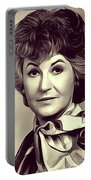 Beatrice Arthur, Vintage Actress Portable Battery Charger
