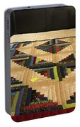 Beautiful Amish Quilt Portable Battery Charger