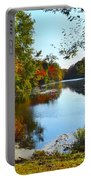 Willow Pond, Caleb Smith Preserve Portable Battery Charger