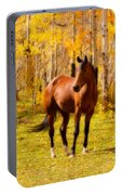 Beautiful Autumn Horse Portable Battery Charger