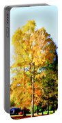 Beautiful Autumn Trees Portable Battery Charger