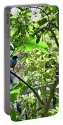 Beautiful Bird Perched In A Tree Portable Battery Charger