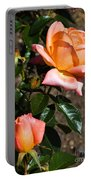 Beautiful Bloom Of The Rose Atlantic Star Portable Battery Charger