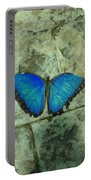 Beautiful Blue Portable Battery Charger