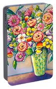 Beautiful Bouquet Portable Battery Charger