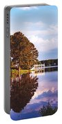 Beautiful Bunn Lake - Zebulon, North Carolina Portable Battery Charger