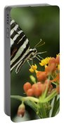 Beautiful Butterfly Waving Portable Battery Charger