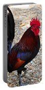 Beautiful Cock  Portable Battery Charger