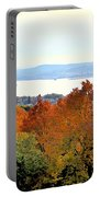 Beautiful Colors Of Autumn Landscape 2 Portable Battery Charger