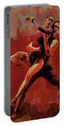 Beautiful Couple Dance 02 Portable Battery Charger