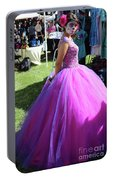 Beautiful Dress Make Up Dad Of Dead  Portable Battery Charger