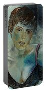 Beautiful Face Portable Battery Charger
