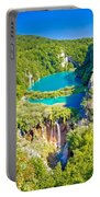 Beautiful Falling Lakes Of Plitvice National Park Portable Battery Charger