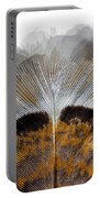 Beautiful Feather Portable Battery Charger
