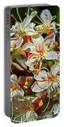 Beautiful Flowers Portable Battery Charger