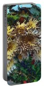 Beautiful Flowers In A Group Portable Battery Charger