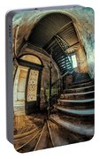 Beautiful Forgotten Staircase Portable Battery Charger