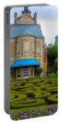 Beautiful Garden At France Pavilion Portable Battery Charger