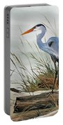 Beautiful Heron Shore Portable Battery Charger