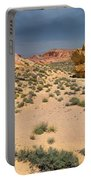 Beautiful Hiking In The Valley Of Fire Portable Battery Charger