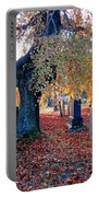 Beautiful Historic Camp Hill Cemetery Halifax Nova Scotia Portable Battery Charger
