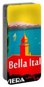 Beautiful Italy, Lake Garda, Riviera Portable Battery Charger