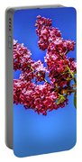 Beautiful Lilac Portable Battery Charger