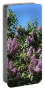 Beautiful Lilacs Day Portable Battery Charger