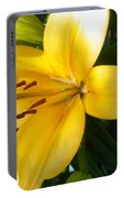 Beautiful Lily I Portable Battery Charger