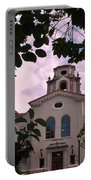Beautiful Mason Hall - Pomona College - Trees Framing Portable Battery Charger