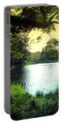 Beautiful Mountain Lake Portable Battery Charger