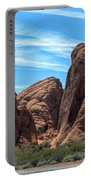 Beautiful Nature Landscape Valley Of Fire  Portable Battery Charger