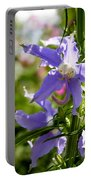 Tall Bellflower Portable Battery Charger