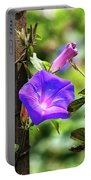 Beautiful Railroad Vine Flower II  Portable Battery Charger