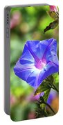Beautiful Railroad Vine Flower Portable Battery Charger