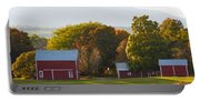 Beautiful Red Barn 3 Portable Battery Charger