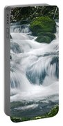 Beautiful River In Forest Portable Battery Charger