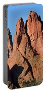 Beautiful Sandstone Spires In Garden Of The Gods Park Portable Battery Charger
