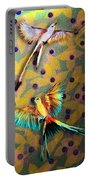Beautiful Scissor-tailed Flycatchers Portable Battery Charger