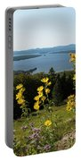 Beautiful Summer Day Portable Battery Charger
