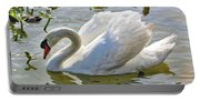 Beautiful Swan Portable Battery Charger