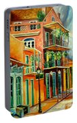 Beautiful Vieux Carre Portable Battery Charger