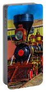 Beautiful Virgina And Truckee Steam Train Portable Battery Charger