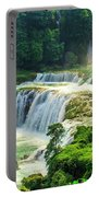 Beautiful Waterfall Crystal Waters Portable Battery Charger